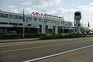 Maastricht Aachen Airport - Image: Maastricht Aachen Airport Terminal