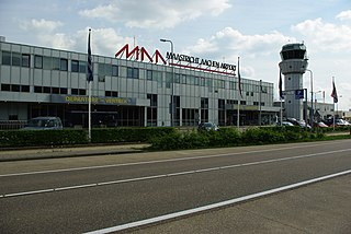 airport serving the cities of Maastricht, Netherlands and Aachen, Germany
