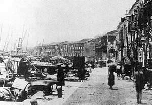 "Macau - The ""O Porto Interior"" in Macau, c. 1900"