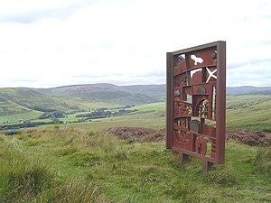 Hugh MacDiarmid - MacDiarmid Memorial near Langholm