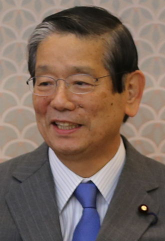 Minister of Education, Culture, Sports, Science and Technology - Image: Machimura Nobutaka 2015