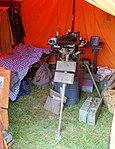Machine gun in tent - Battle for the Airfield, 2017 - Collings Foundation - Massachusetts - DSC06955.jpg