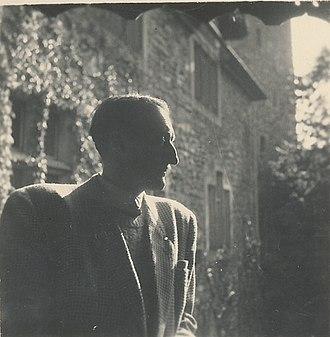 Maciej Masłowski - Maciej Masłowski, Schloss,  Rapperswil, Polish Museum, Switzerland, July–August 1948