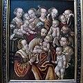 Maestro HB con la testa di grifone, cristo benedice i fanciulli, sassonia 1530-1550 ca. 01.JPG