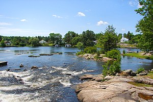 Magnetawan River - Image: Magnetawan ON 2