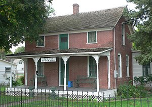 National Register of Historic Places listings in Lincoln County, South Dakota - Image: Magnus O. Bergstrom house from NE 1