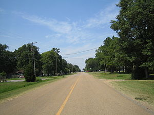 Dyess, Arkansas - Main Street in Dyess.