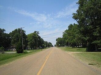 Dyess, Arkansas - Main Street in Dyess.
