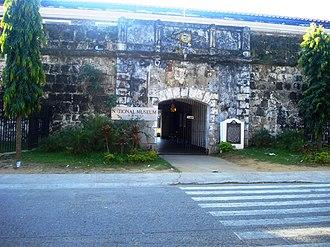 Siege of Zamboanga - Image: Main Entrance in Fort Pilar Museum