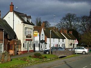 Wolston - Image: Main Street, Wolston geograph.org.uk 1182732