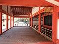 Main hall of Daikoku Shrine and Nagahashi Bridge in Itsukushima Shrine.jpg