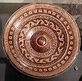 Maiolica ispano-moresca, piatto a lustro, catalogna (attr.), xvi-xvii secolo.jpg