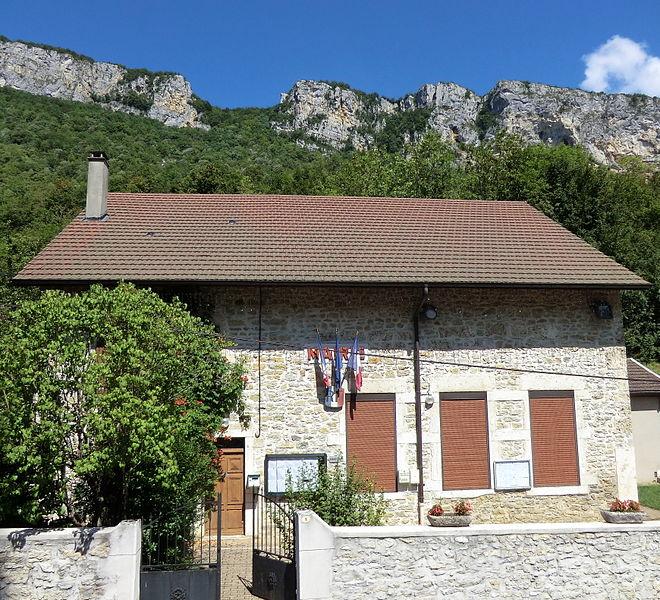 Mairie de La Burbanche.