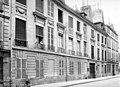 Maison - Façade sur rue en perspective - Paris 03 - Médiathèque de l'architecture et du patrimoine - APMH00004630.jpg