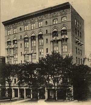 Majestic Hotel (Atlanta) - Majestic Hotel 1902, from a postcard