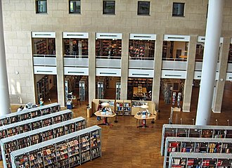 Malmö City Library - Image: Malmöbibliotek 8
