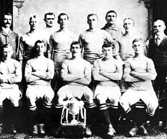 Manchester City F.C. - The Manchester City team which won the FA Cup in 1904