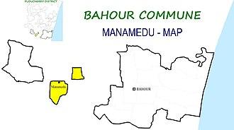 Bahour Commune - Image: Manamedu BHR