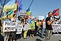 Manifestation No Mistrals For Putin Saint Nazaire 20140907 Volodymyr Tkachenko - 1.jpg