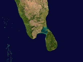 Coral reefs in India - Image: Mannar 79.03963E 9.52009N