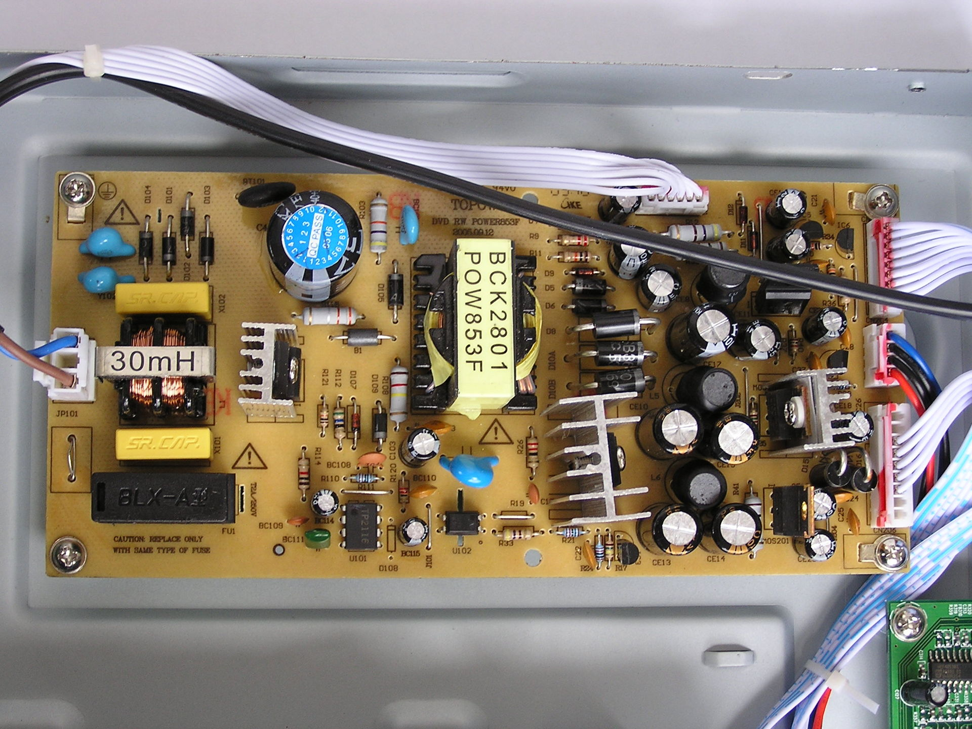 Atx to At Power supply converter Wiring diagram