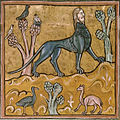 Manticore - British Library Royal 12 F xiii f24v (detail).jpg