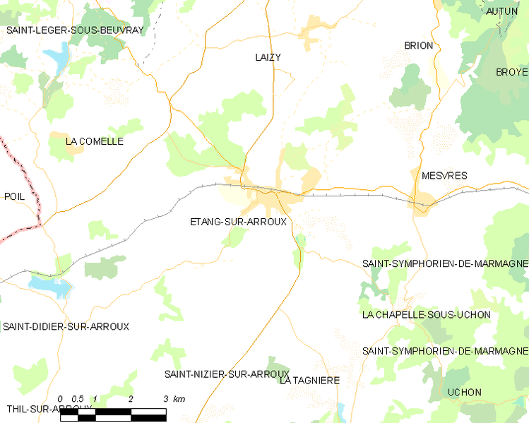 Fayl:Map commune FR insee code 71192.png