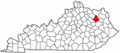 Map of Kentucky highlighting Rowan County.png