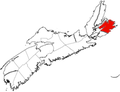 Map of Nova Scotia Highlighting CBRM.png