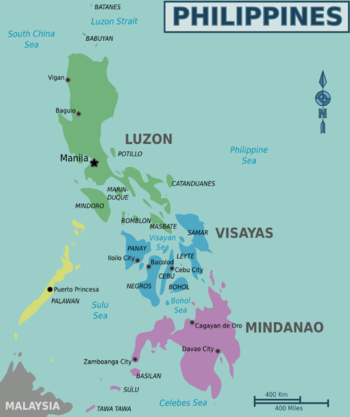 Cartina Geografica Isole Filippine.Filippine Wikivoyage Guida Turistica Di Viaggio