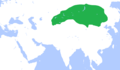 Map of Second Turkic Khaganate.png