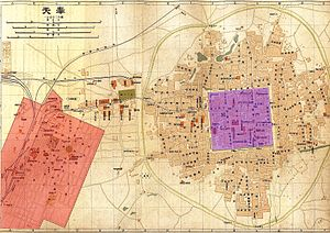 Map of Shenyang in 1919