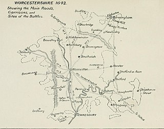 Worcestershire in the English Civil War