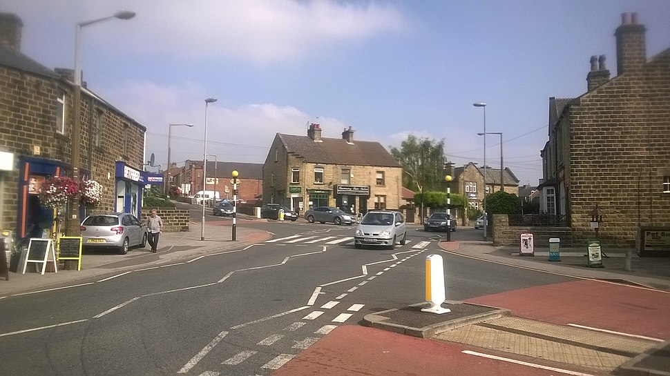 Mapplewell village in South Yorkshire, 16 September 2014
