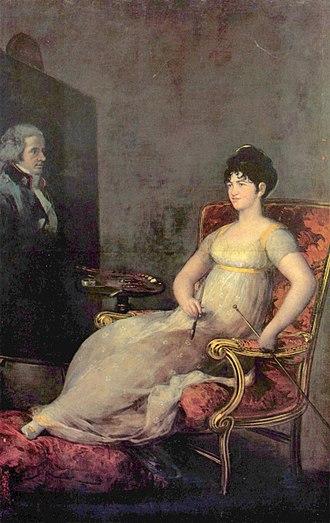1804 in art - The Marquesa of Villafranca, painted by Goya