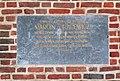 Marcin Oracewicz commemorative plaque, Kraków barbican, Planty Garden, Old Town, Krakow, Poland.jpg