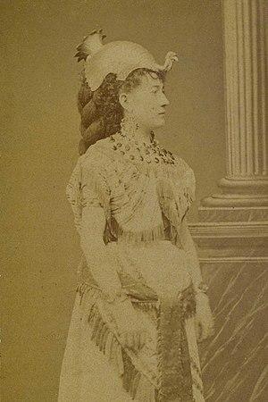 Maria Waldmann - Maria Waldmann as Amneris in Aida, Parma, 1872