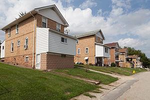 Marianna, Pennsylvania - Houses on Second Street