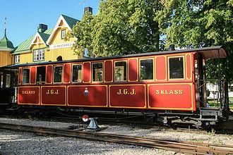 Vabis - JGJ Co 2 at Östra Södermanlands Järnväg  in Mariefred, built by Vabis in 1893.