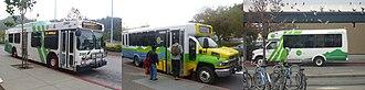 Marin Transit - Image: Marin Transit collage