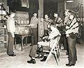 Marine Corps Bagpipers, circa 1943 (7549599244).jpg