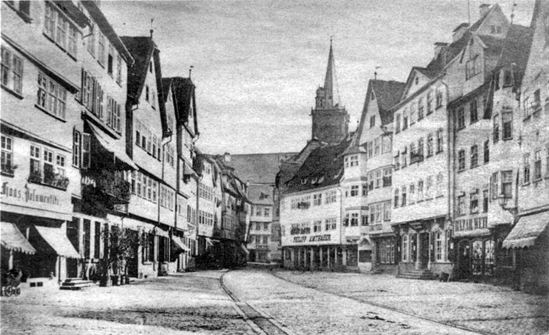 File:Marktplatz Wertheim vor 1882.jpg