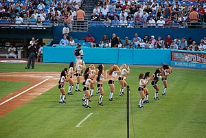 Miami Marlins - Marlins Mermaids on June 19, 2009