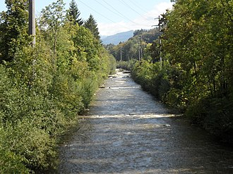 Marly, Fribourg - Gérine river in Marly