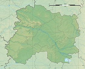 Marne department relief location map.jpg