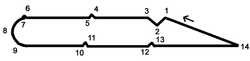 Marrakech Street Circuit map.png