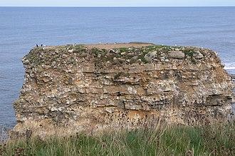 Marsden Rock - Image: Marsdenrockfromcliff