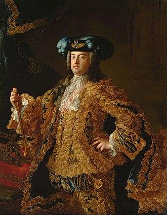 Francis I, Holy Roman Emperor - Portrait by Martin van Meytens