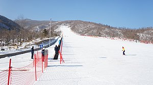 Masikryong Ski Resort - Image: Masik Pass Ski Resort in North Korea (11944156905)