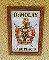 Masonic Lodge 282 - DeMolay sign, Lake Placid, Florida.jpg